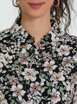Camicia in tessuto morbido