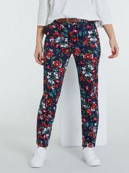 Pantaloni a fantasia con cintura