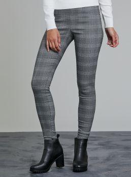 Pantaloni elastici a fantasia