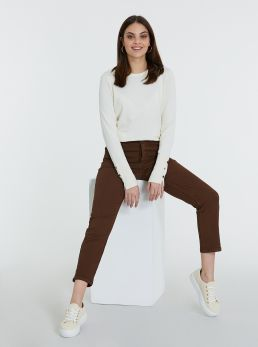 Pantaloni skinny-fit