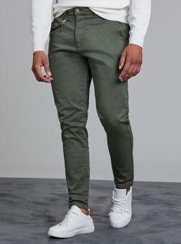 Pantaloni Regular-fit con catena