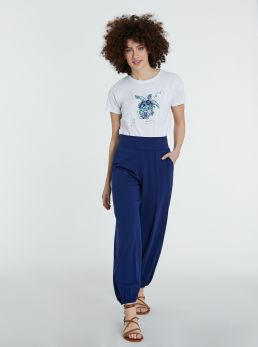 Pantaloni alla turca con fascia