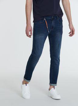 Jeans 5 tasche con dettaglio