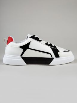 Sneaker materiale combinato