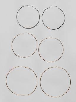Set orecchini cerchio