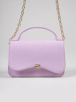 Mini borsa con manico e tracolla