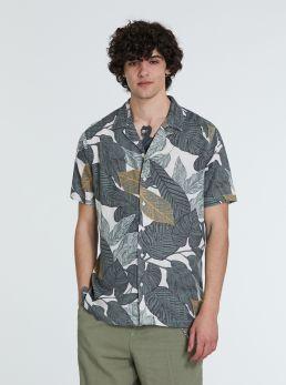Camicia stampe tropical