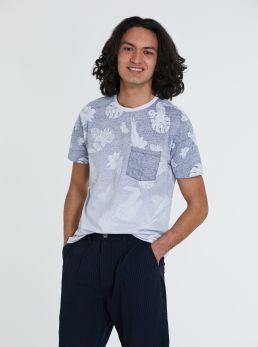 T-shirt con sfumatura