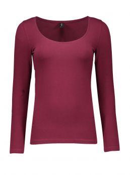 T-Shirt scollo ampio