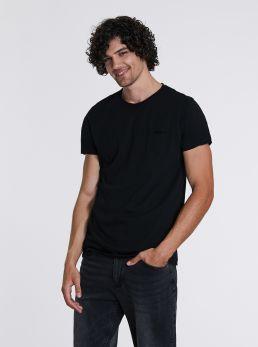 T-Shirt con orlo taglio vivo