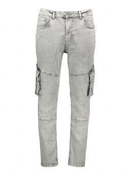 Jeans con tasconi laterali