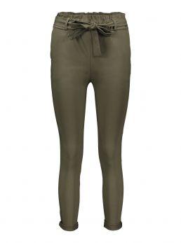 Pantaloni con fiocco in vita
