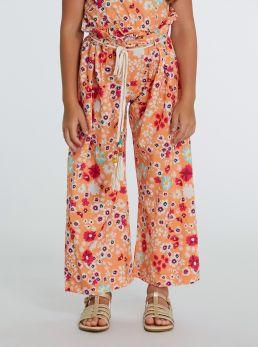 Pantaloni stampe floreali