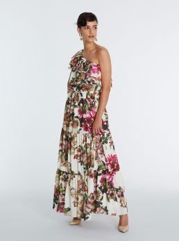 Vestito stampa floreale