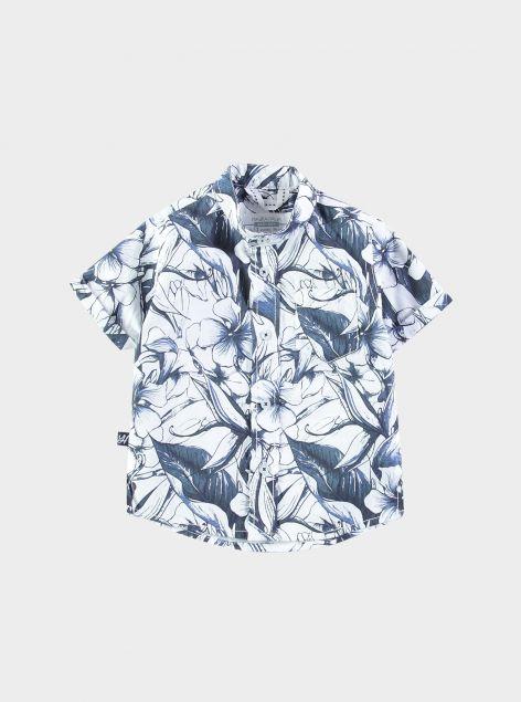Camicia stampa floreale