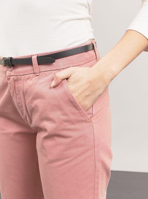 Pantaloni chino con cintura