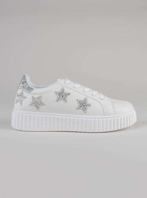 Sneaker glitterate