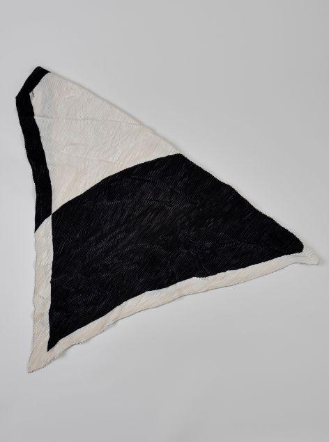 Foulard plissettato
