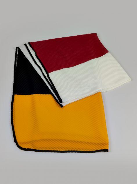 Foulard plissè