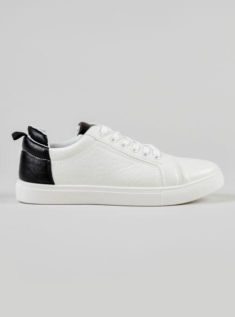 Sneakers tallone a contrasto