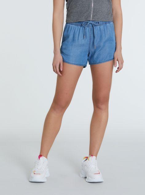 Shorts in lyocell