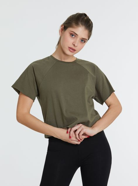 T-Shirt Loose Cropped