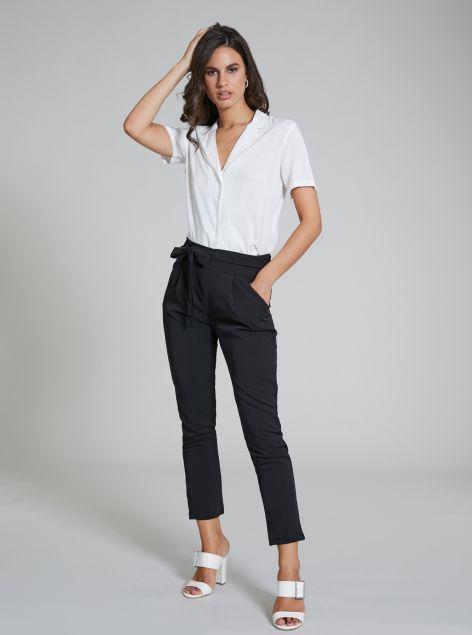 Pantalone con cintura