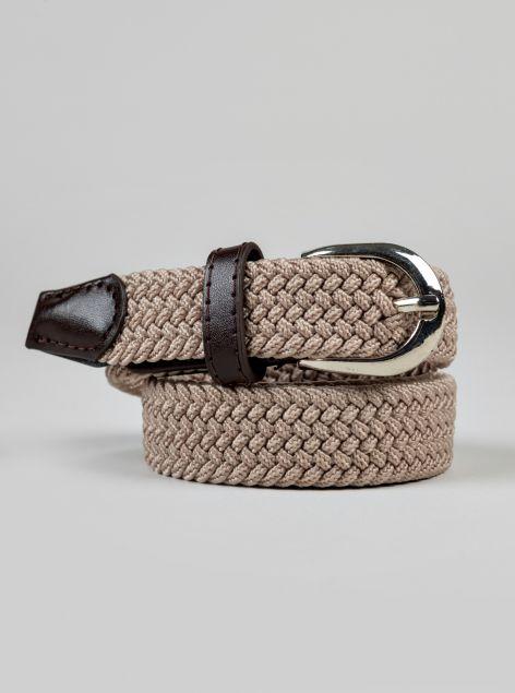 Cintura effetto corda elastica