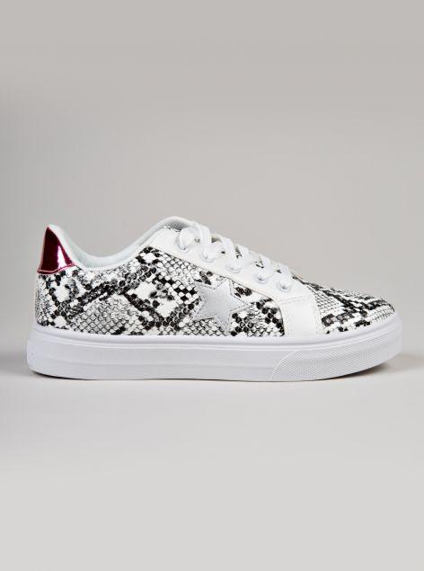 Sneaker texturizzata