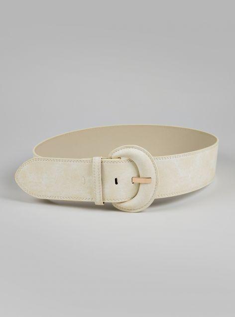 Cintura fibbia grande
