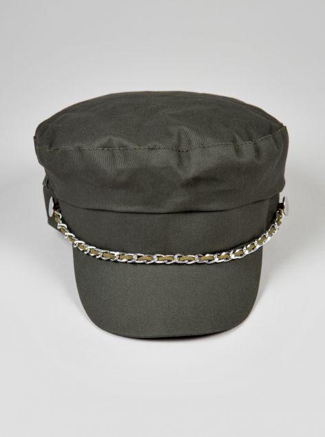 Cappello con applicazioni