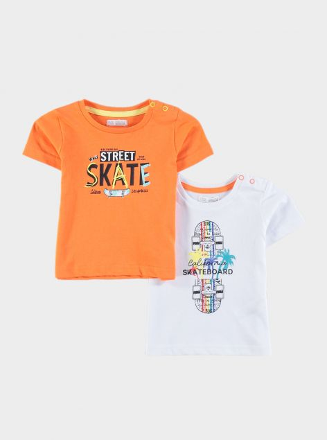 2Pack T-Shirt con stampe