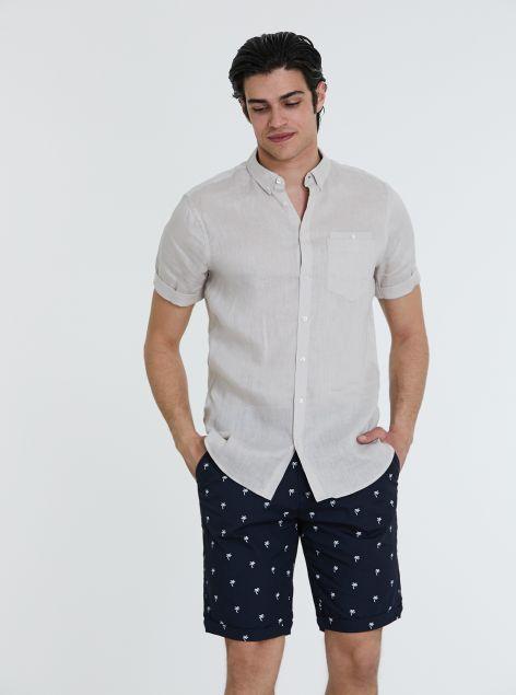 Camicia 100% lino