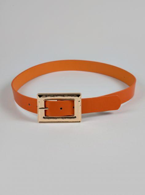 Cintura fibbia rettangolo