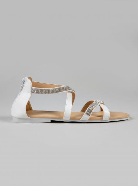 Sandalo con strass