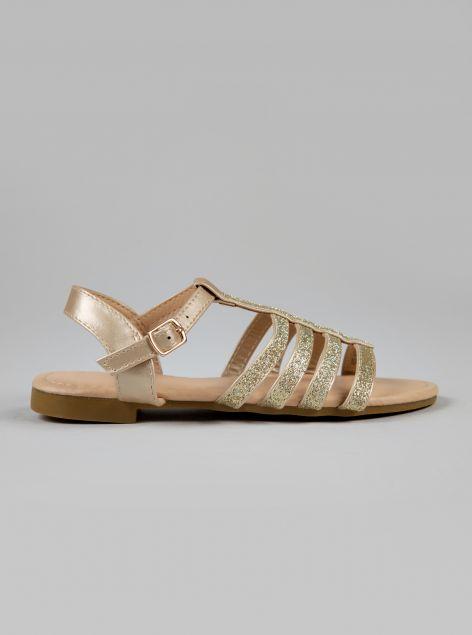 Sandalo in ecopelle