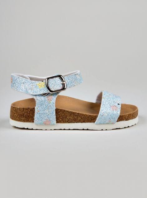 Sandalo glitterato