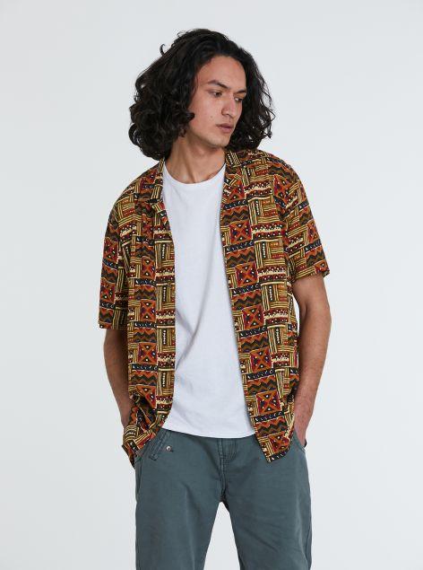 Camicia stampe etniche