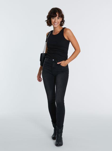 Jeans high-waist