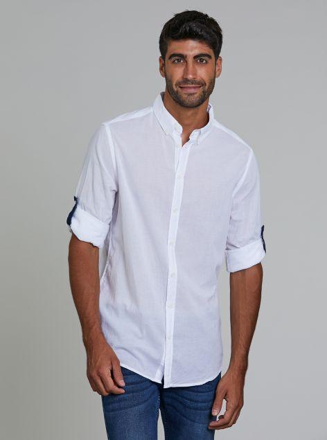Camicia con risvolti