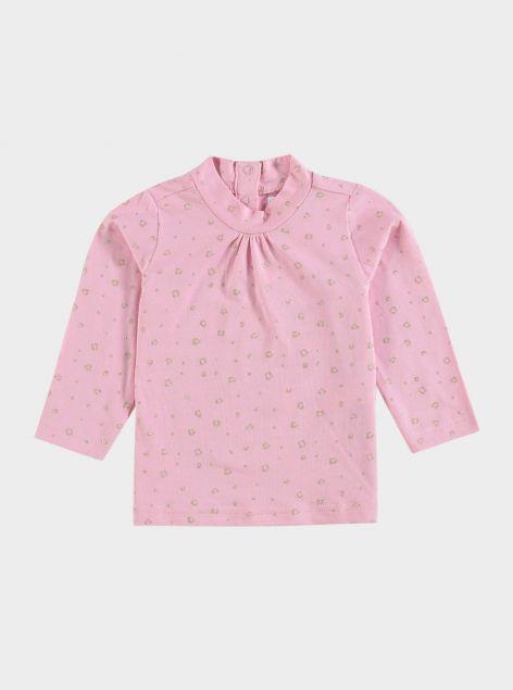 T-Shirt collo alto