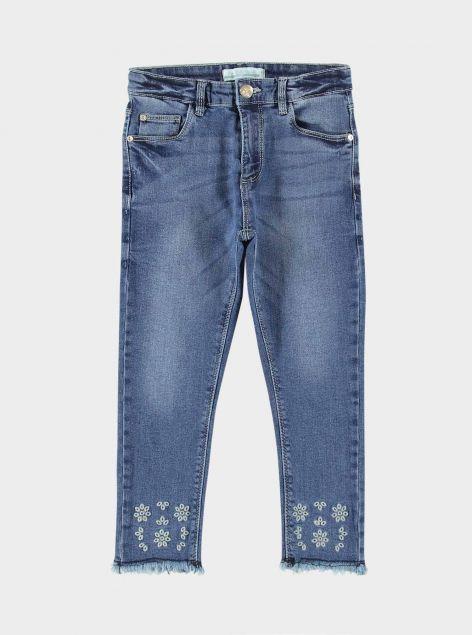 Jeans con Ricami