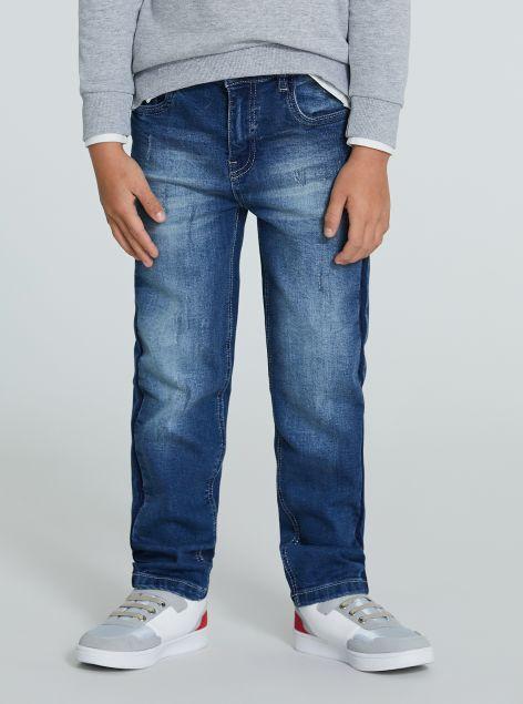 Jeans regular-fit slavato