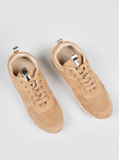 Sneaker ecocamoscio