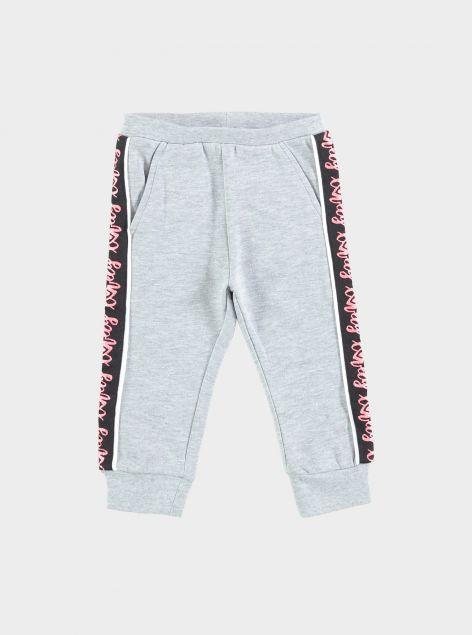 Pantaloni con elastico a fascia