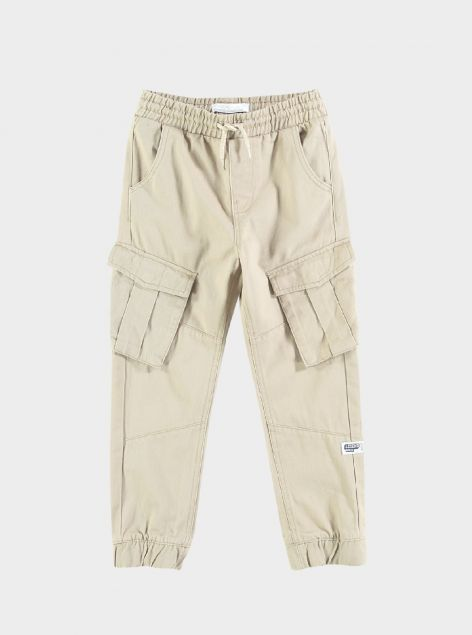 Pantaloni cargo con elastico