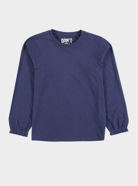 T-Shirt con manica a sbuffo