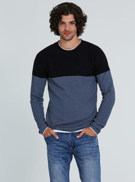 Pullover misto cotone