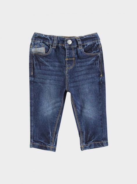 Jeans regular da neonato
