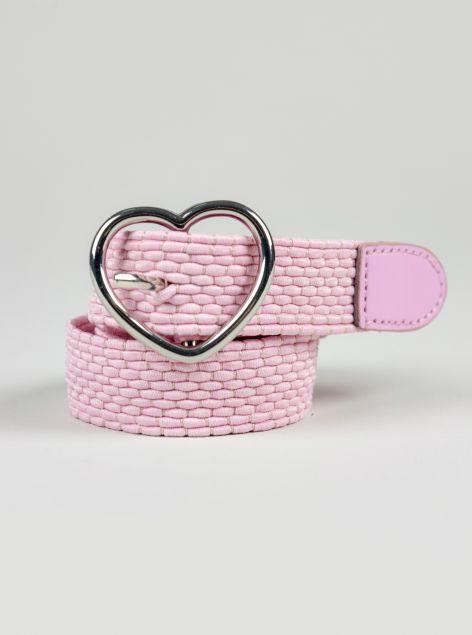 Cintura fibbia a cuore